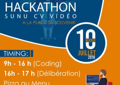 Hackathon SUNU CV VIDEO
